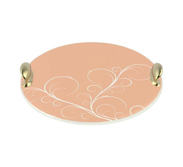 Rose Gold Desserts Platter Designed by Anna Vasily - 3/4 View