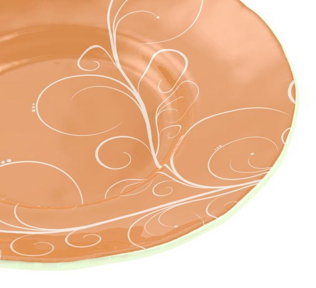 A Large Soup Bowl for Royal Glamour Designed by Anna Vasily - Detail View