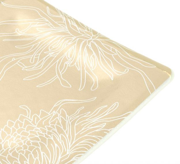 Patterned Side Plates Designed with Style by Anna Vasily - Detail View
