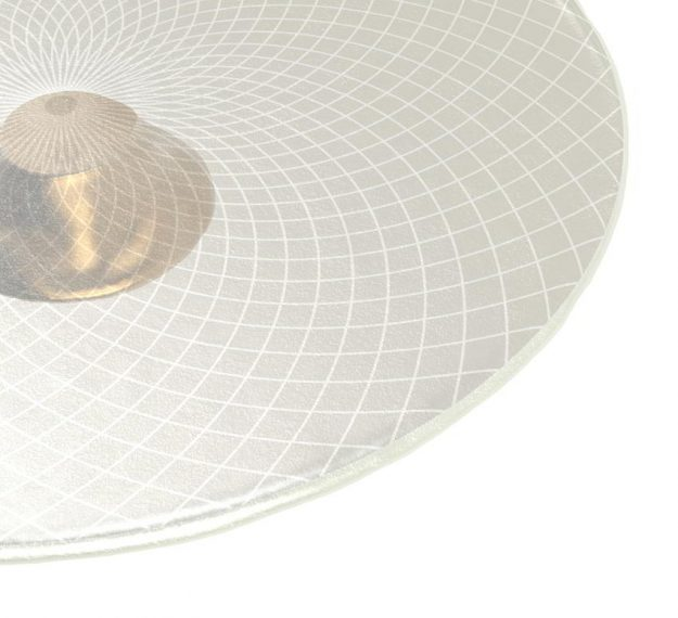 White Pedestal Cake Stand Understated Elegance by Anna Vasily - Detail View