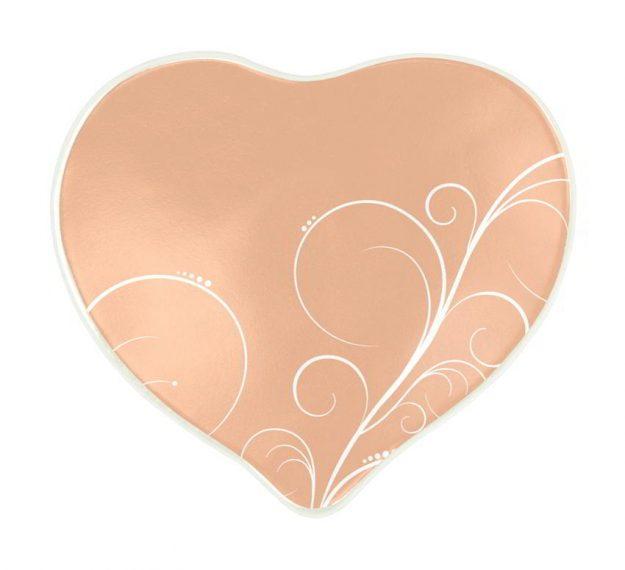 Cameo rose valentine plate