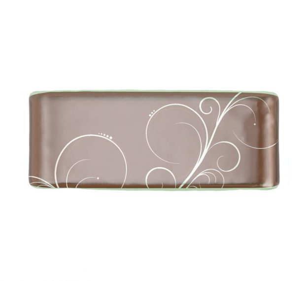 Brown modern napkin holder