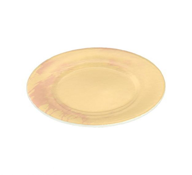 Set of creative dinner plates