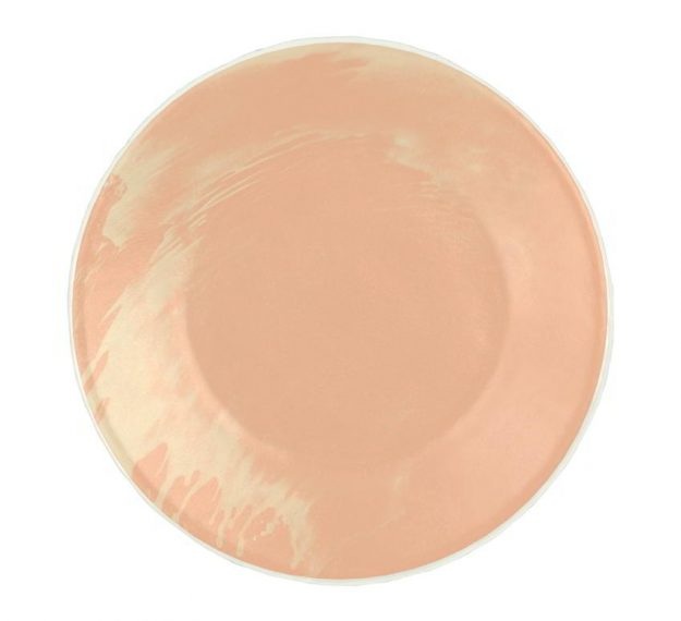 Rose Gold Side Plates - Maia Handmade Side Plates by Anna Vasily - Top View