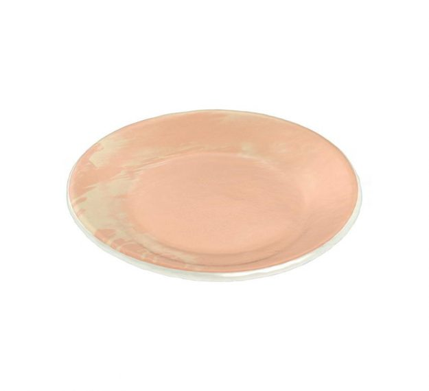 Rose Gold Side Plates - Maia Handmade Side Plates by Anna Vasily - 3/4 View