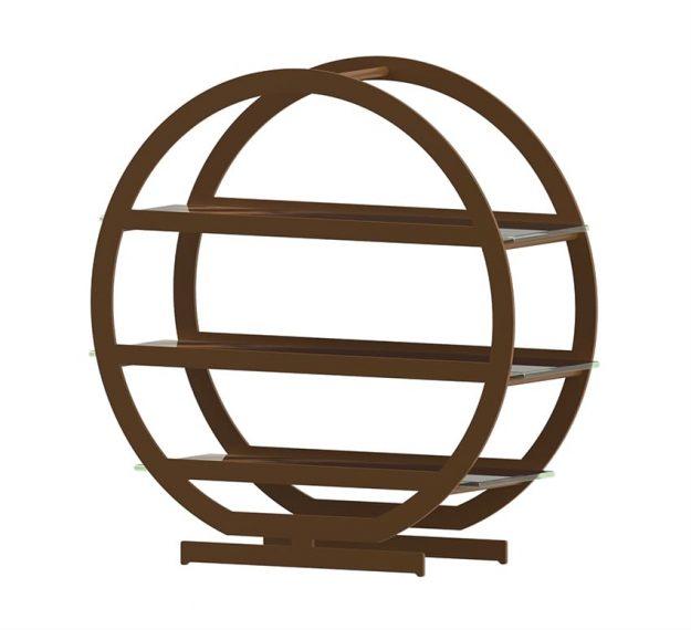Round tiered high tea stand