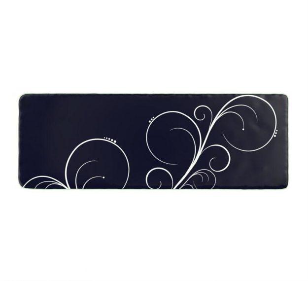 Stylish Dark Navy Blue Platters Designed by Anna Vasily - Top View