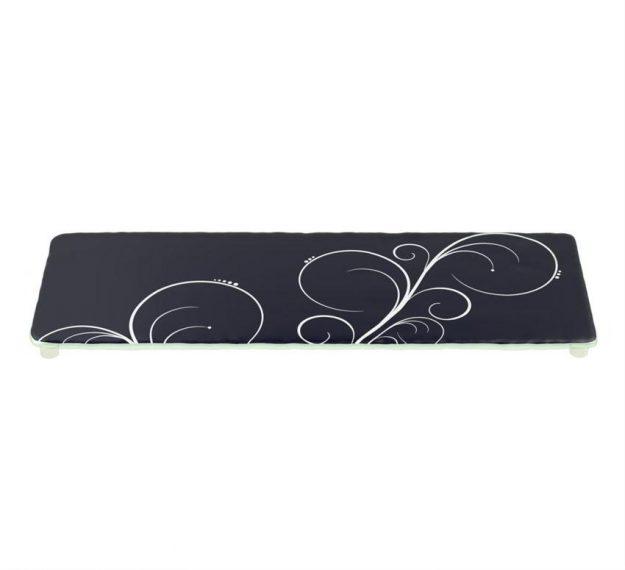 Stylish Dark Navy Blue Platters Designed by Anna Vasily - 3/4 View