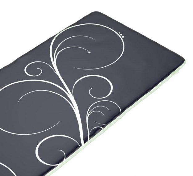 Stylish Dark Navy Blue Platters Designed by Anna Vasily - Detail View