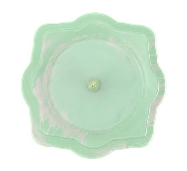 Mint Green High Tea Stand Designed by Anna Vasily - Top View