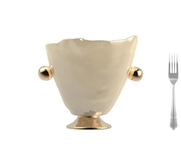Cream champagne ice bucket