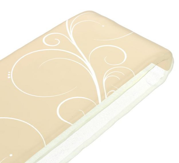 Elegant napkin holder in cream