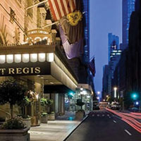 St Regis Hotel New York