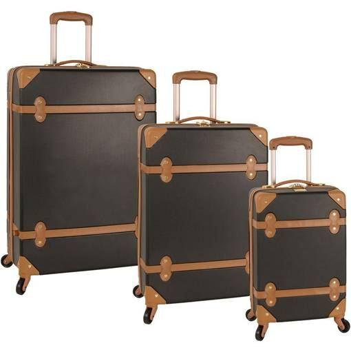 3 pieces suitcase set