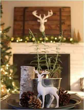 Styled Deer Figurines