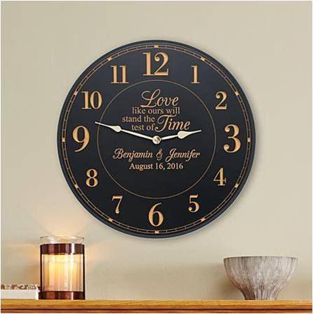 Customized Wedding Clock