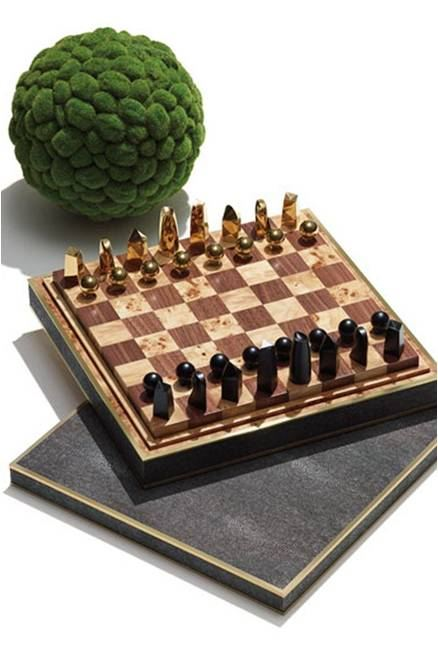 Elaborate Chess Set