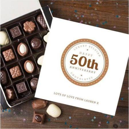 Anniversary Belgian Chocolates
