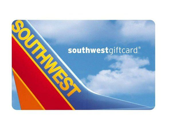 An Airline Gift Card