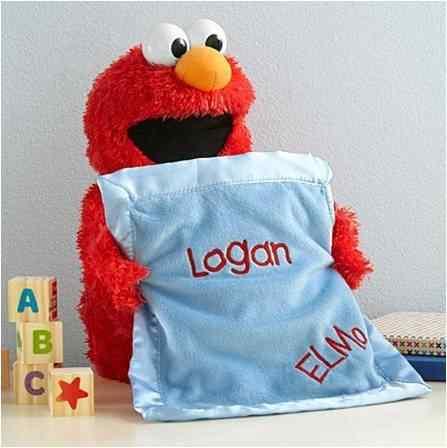 Peek-A-Boo Elmo Toy