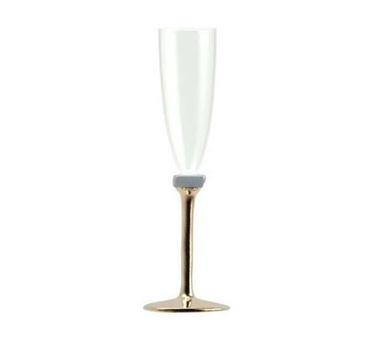 Elegant champagne glass