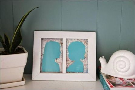 Silhouettes in a Frame