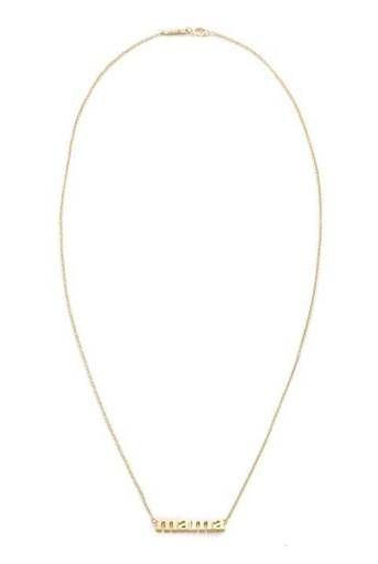 """""""Mama"""" Gold Necklace"""
