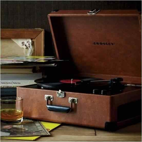 Portable Vinyl Player