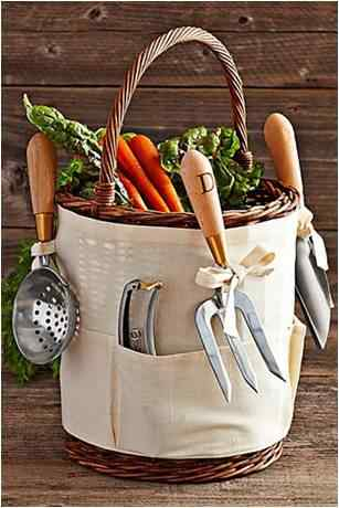 garden tool basket