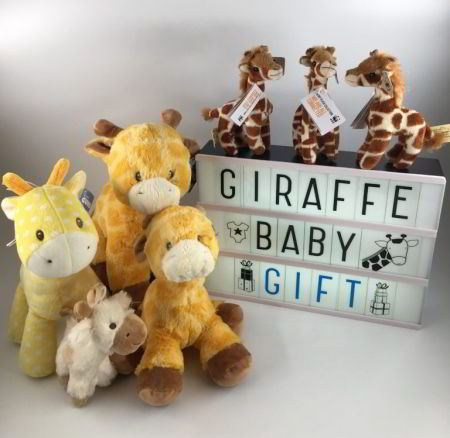 giraffe baby gifts