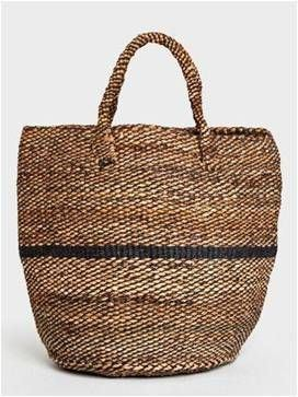 Beach bag with holiday essentials
