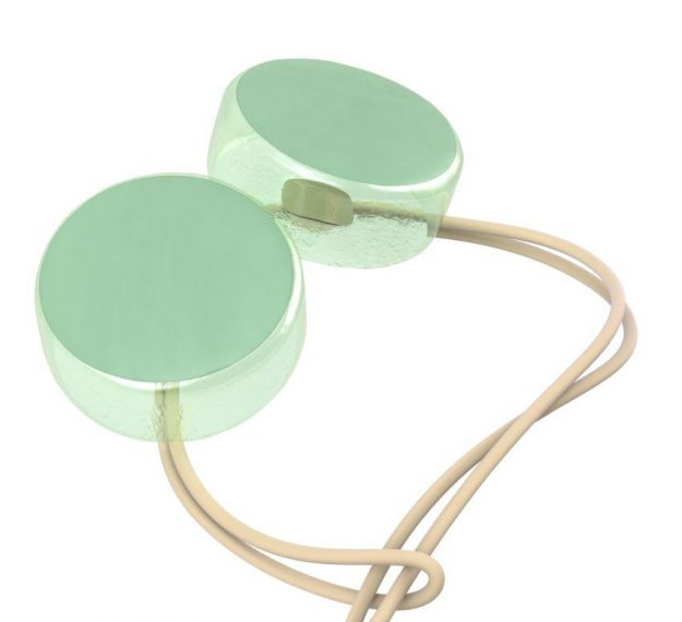 Mint Green Round Napkin Holders An Elegant Detail by Anna Vasily - Detail View