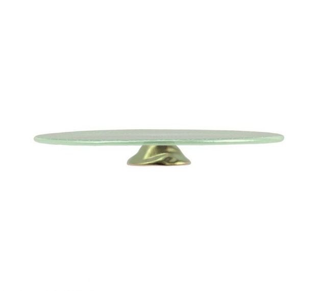 Mint Green Wedding Cake Stand - An Opulent Touch by Anna Vasily - Side View
