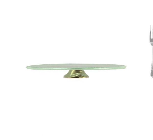 Mint Green Wedding Cake Stand - An Opulent Touch by Anna Vasily - Measure View