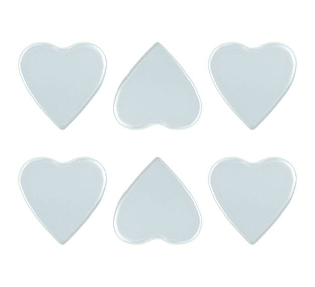 Wedding Coasters are Boring! Choose Heart Coasters by AnnaVasily - Set View