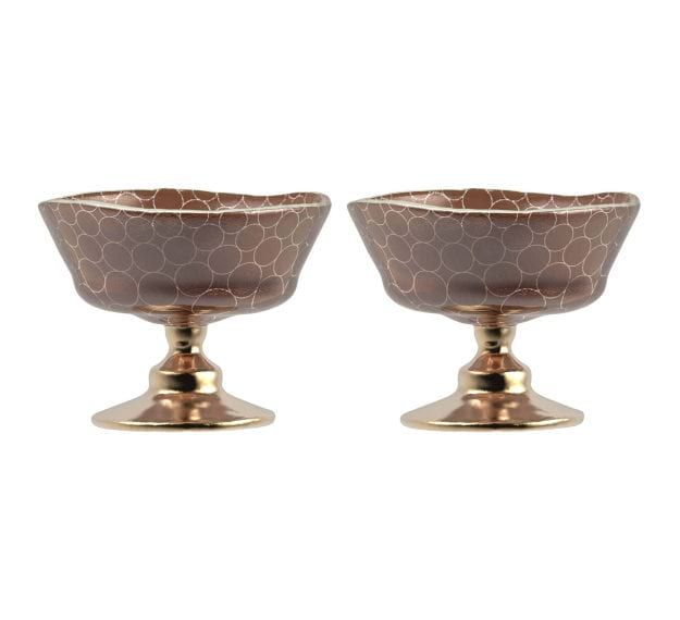 Modern Ice Cream Bowls Designed by Anna Vasily - Set View