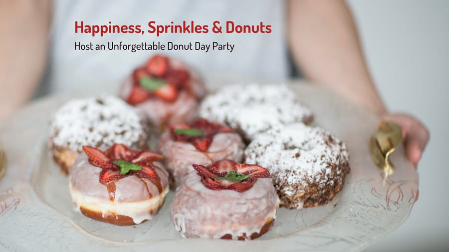Donut Day Party