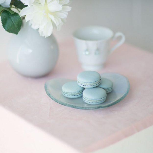 Heart Shaped Plates Set of 4 Aela by Anna Vasily