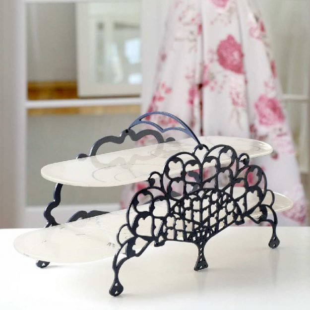 Antho 2 Tier Cake Stand by Anna Vasily