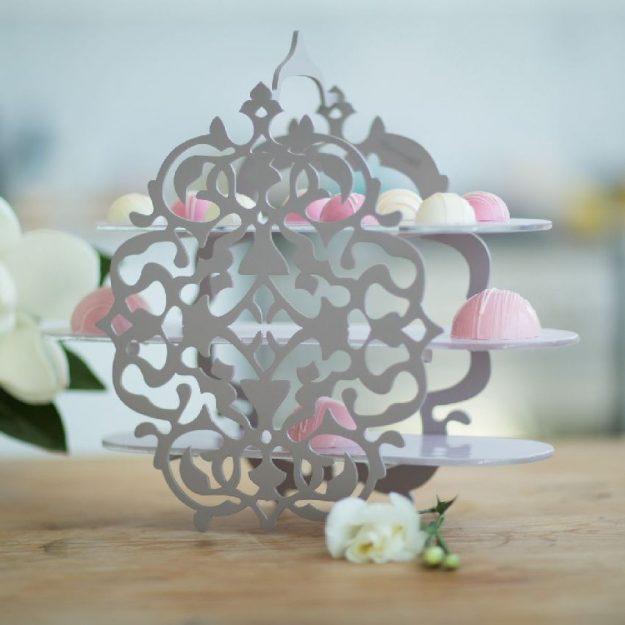 Tiered High Tea Stand Bria by Anna Vasily