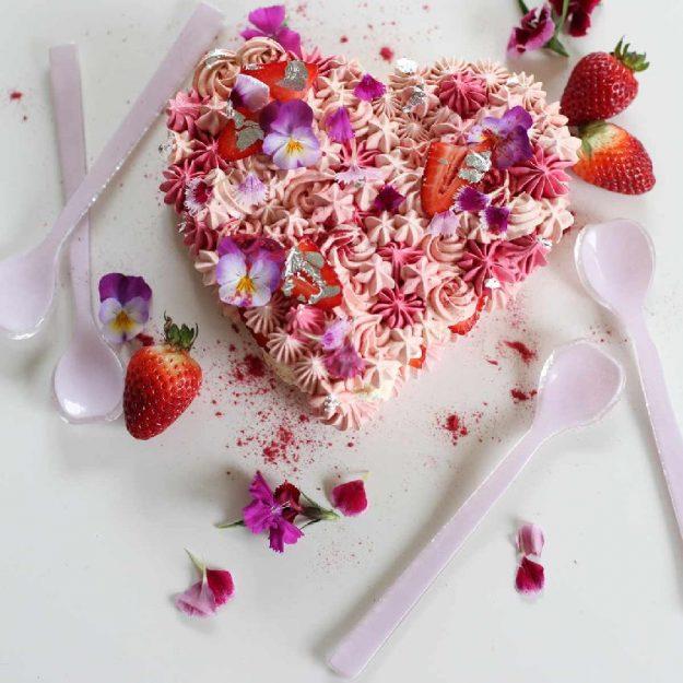 Pink Dessert Spoon, Fona Designed by Anna Vasily