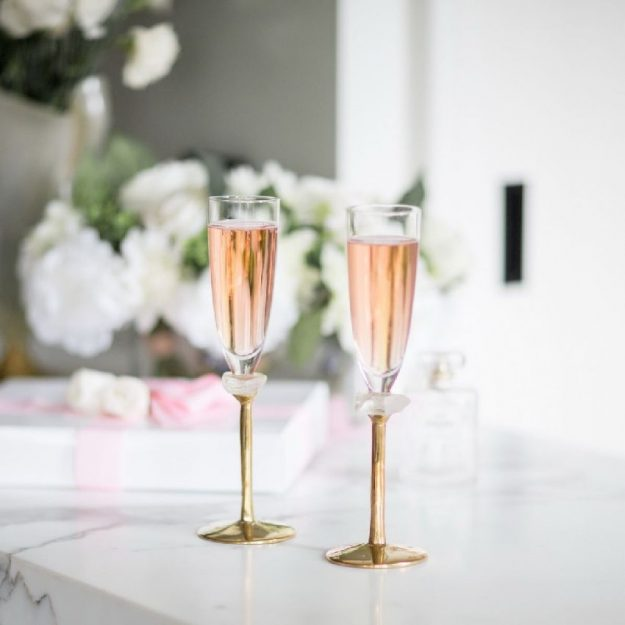 Modern Champagne Glasses Gaby Designed by Anna Vasily