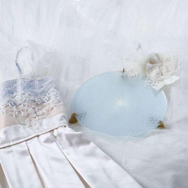 Blue Cake Plate Stand Gane by Anna Vasily