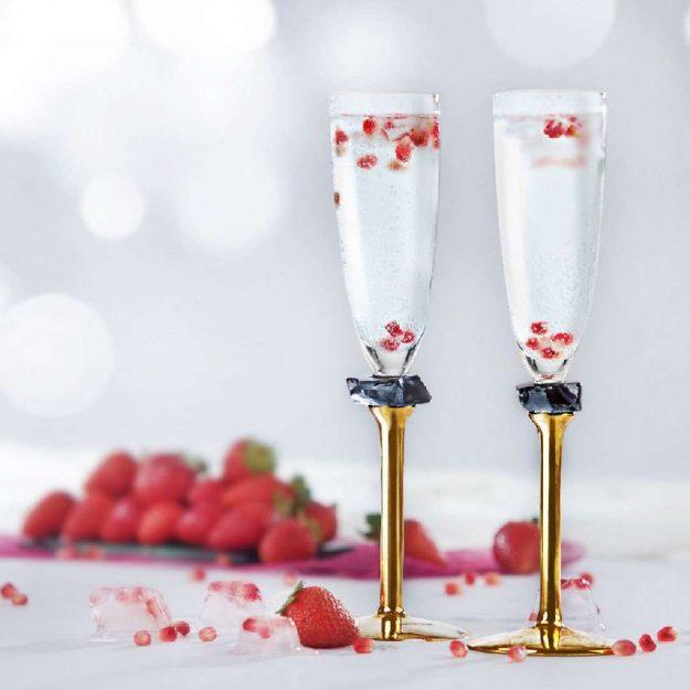 Designer Champagne Glasses Janet - Anna Vasily