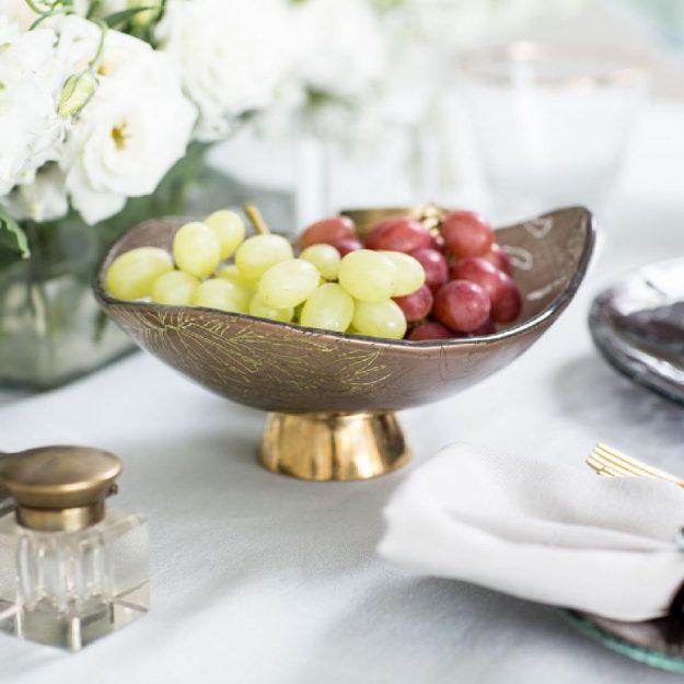 Irregular Shaped Small Fruit Bowl Loren by Anna Vasily