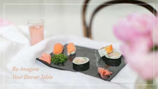 Serveware to host parties with sophistication - AnnaVasily. Serving platters, serving bowls and serving trays for finger food presentation!