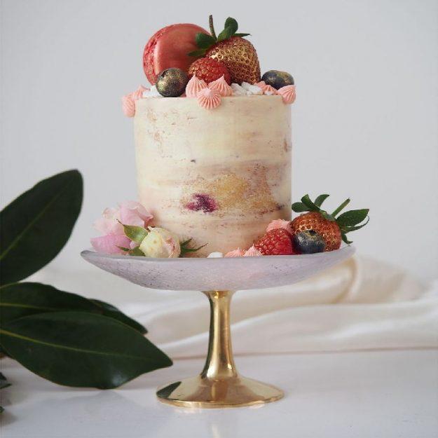 Veli Pedestal Single Cupcake Stand by Anna Vasily