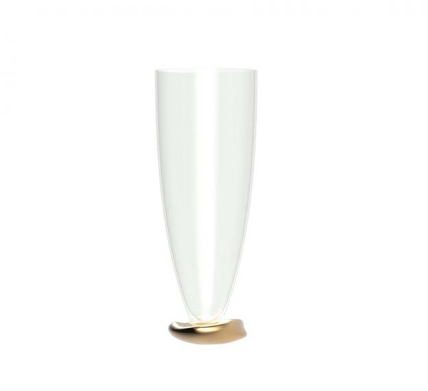 Stemless Champagne Glasses - Celes Set/2 Stemless Glasses | AnnaVasily - Side View