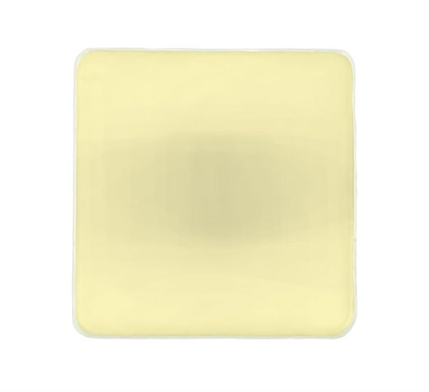 Gold Napkin Rings - Kama Set of 6 Elegant Napkin Rings | AnnaVasily - Top View