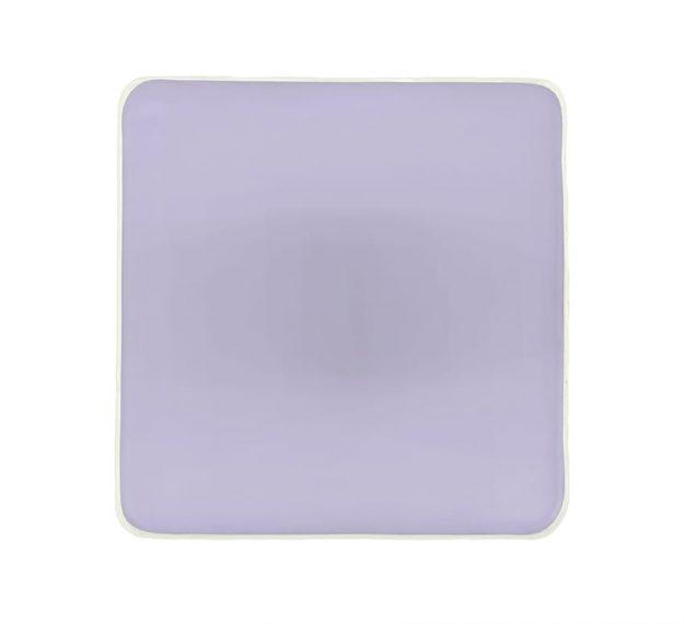 Purple Napkin Rings - Medo Lilac Napkin Ring Holders | AnnaVasily - Top View